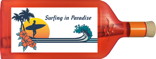 Surfing in Paradise 1